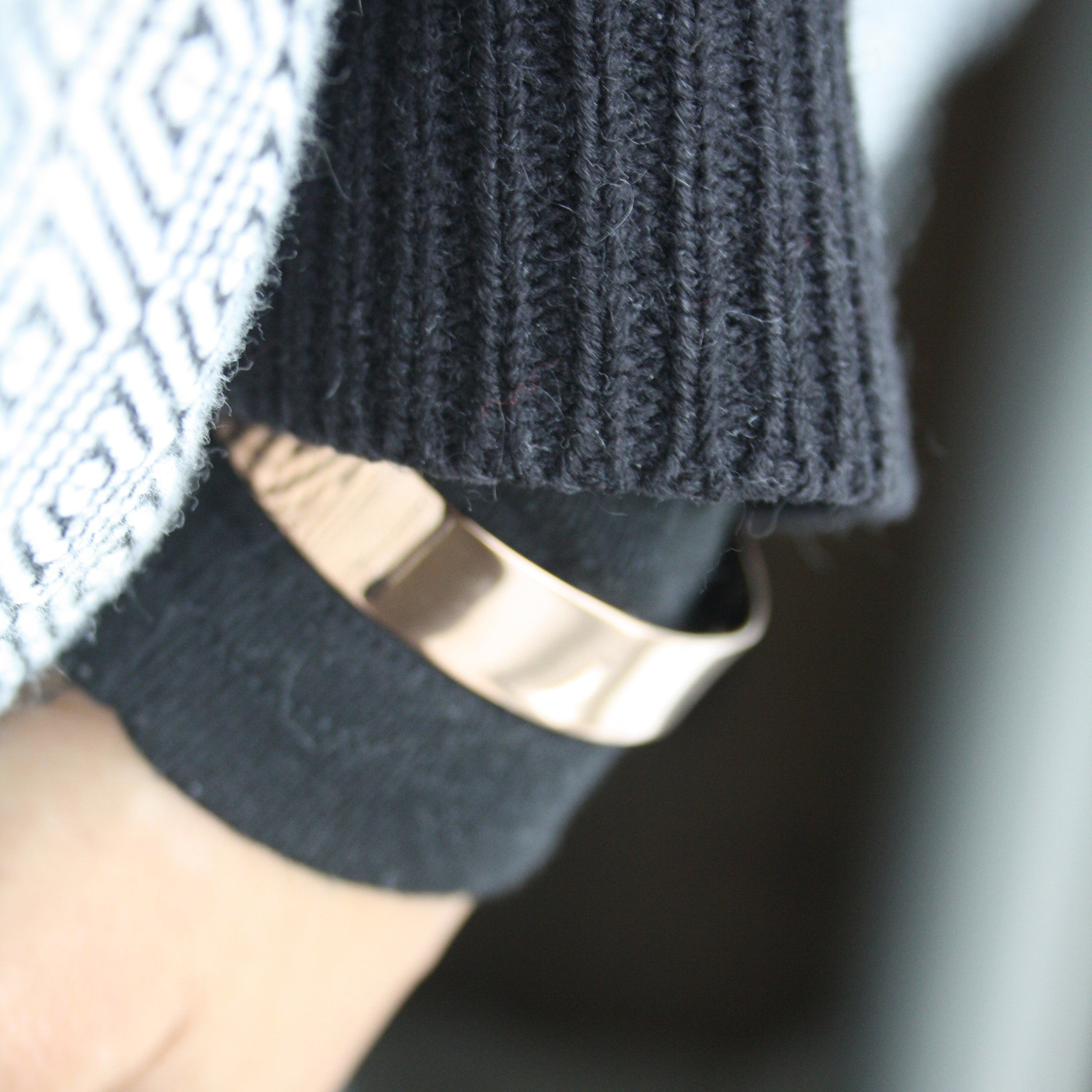 Rose Gold Plated Cuff