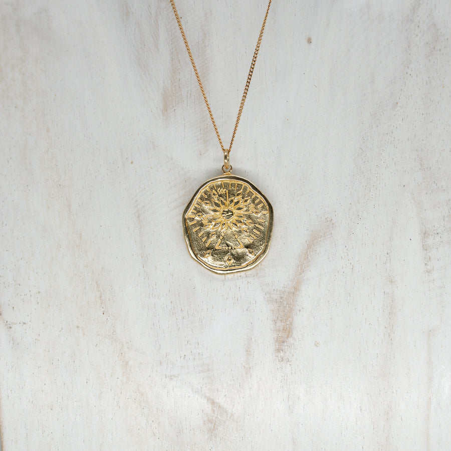 INNER LIGHT PENDANT - GOLD