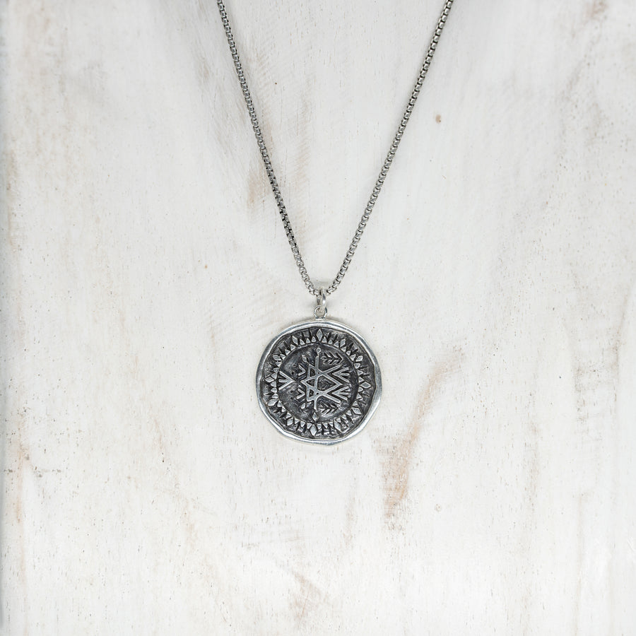 TRAVELLERS PENDANT - SILVER