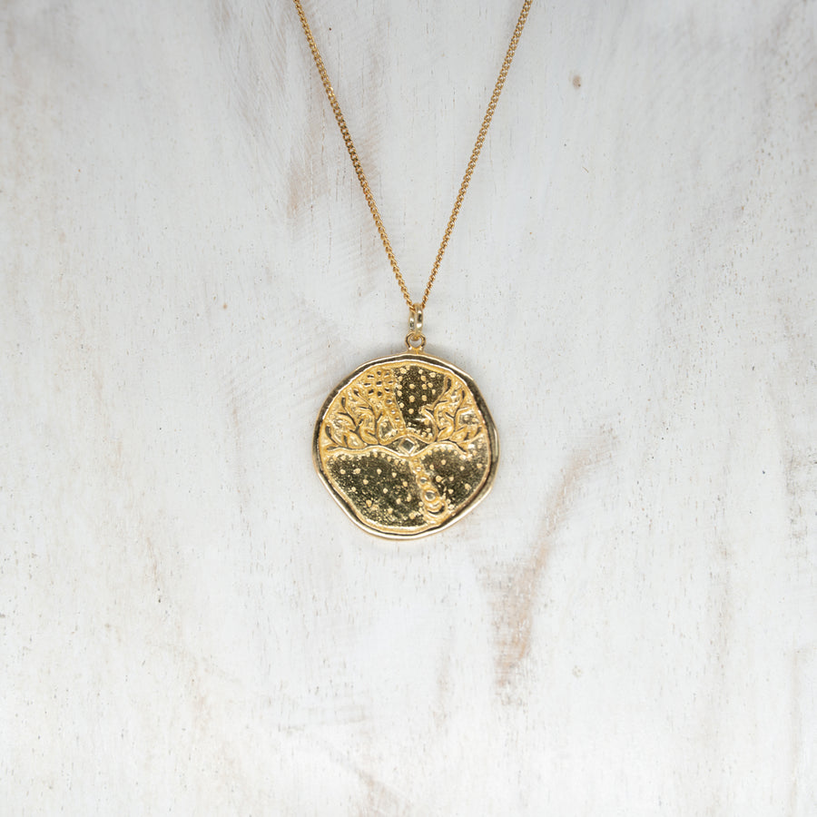 INTUITION PENDANT - GOLD