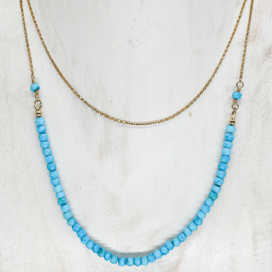 ARIANA TURQUOISE NECKLACE