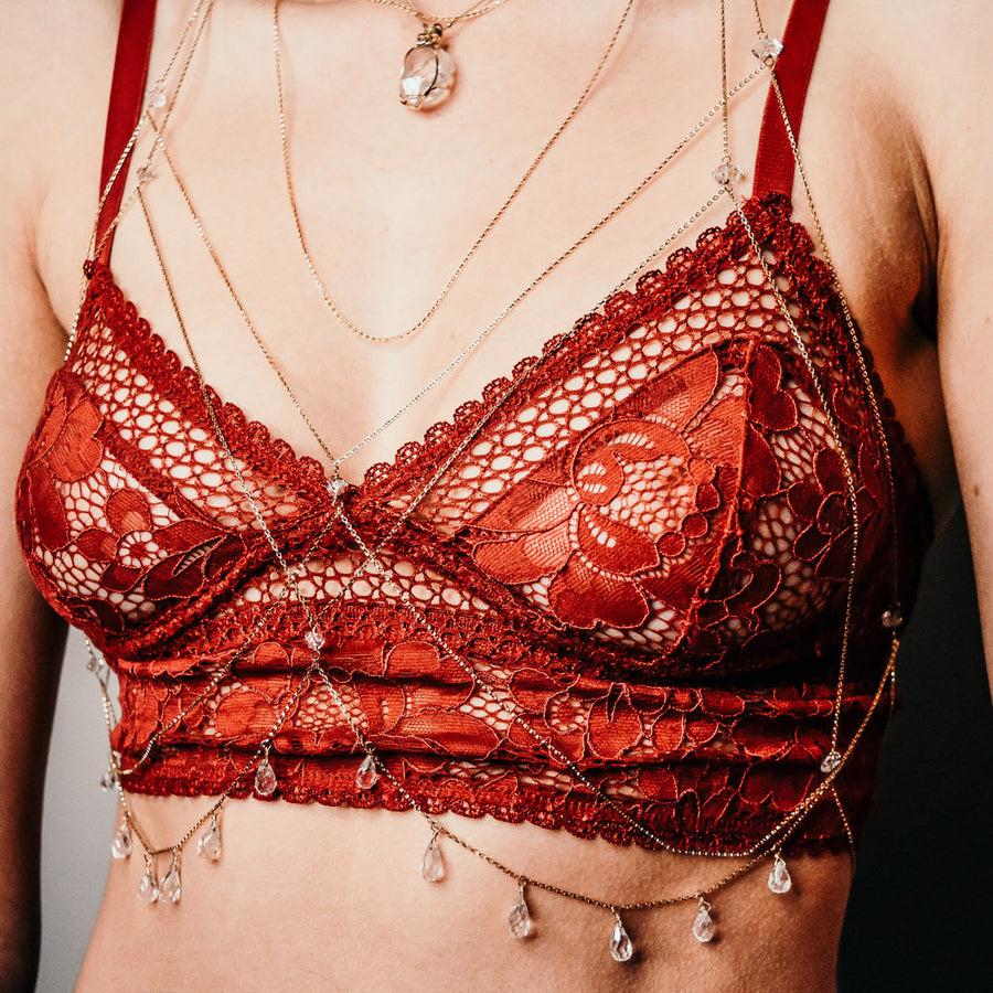 FALL FOR ME - BRA JEWELS