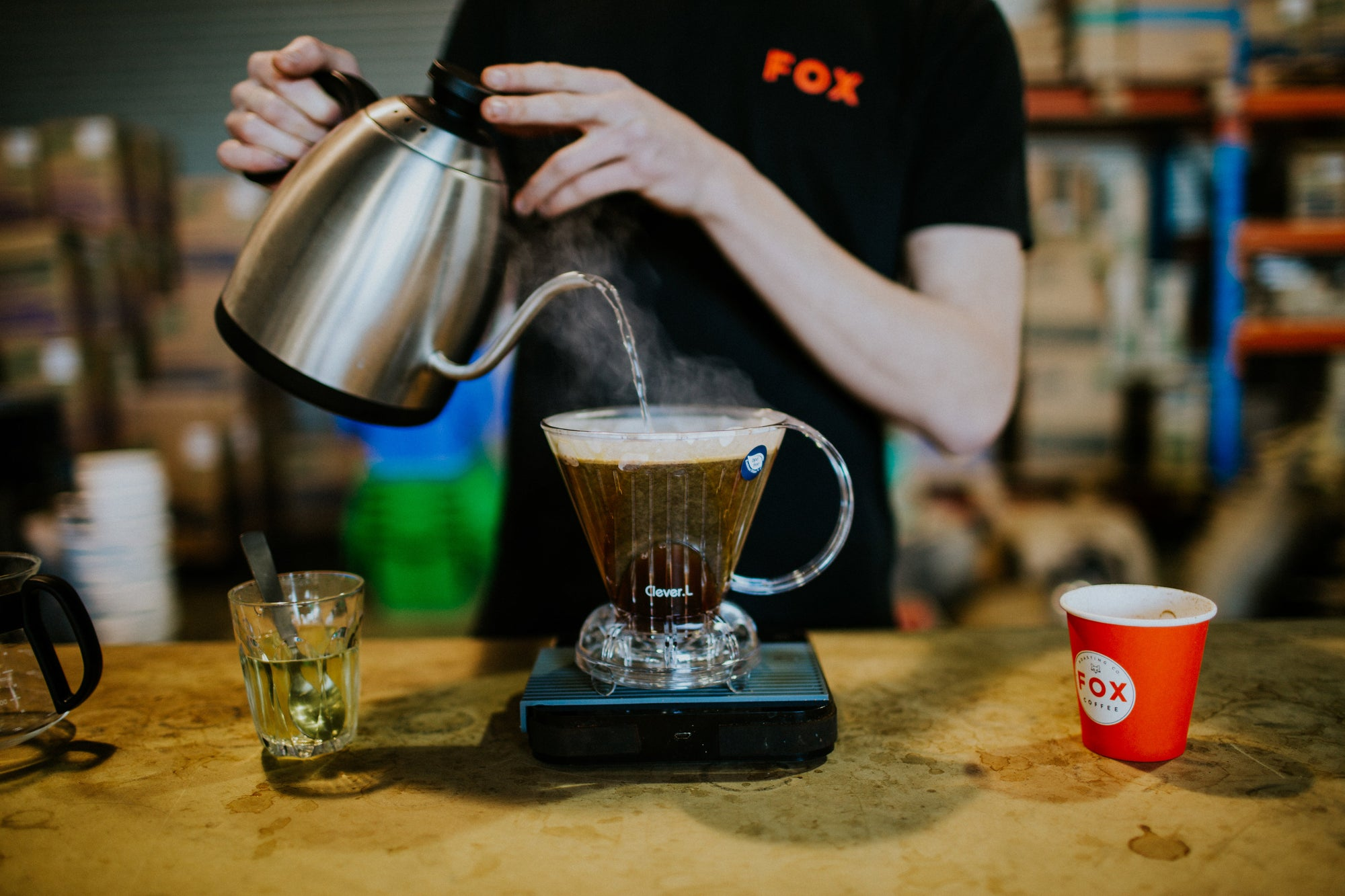 How to brew a Clever Dripper FAST!