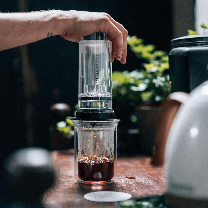 Delter Coffee Press: Just an AeroPress Rip Off?