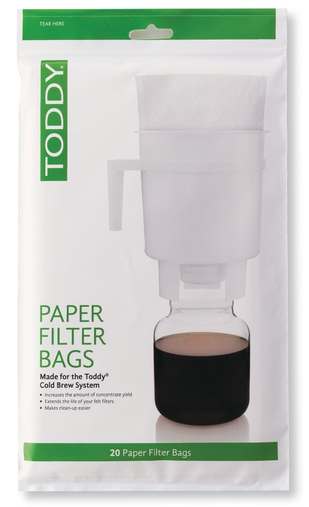 Toddy Paper Filter Bags - Domestic 20pk