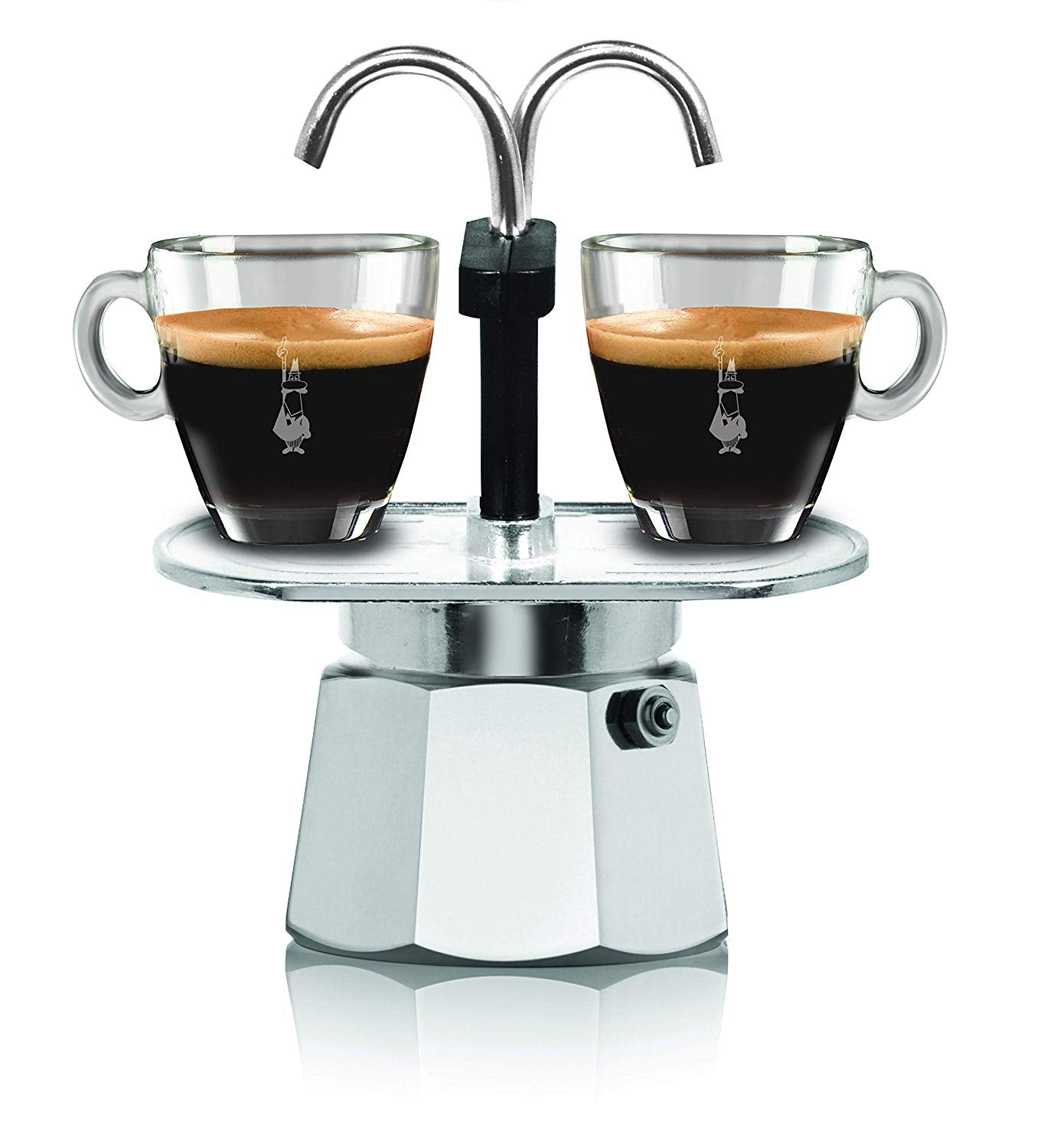 Bialetti Mini Express 2 Cup + Coffee Beans + Free Shipping
