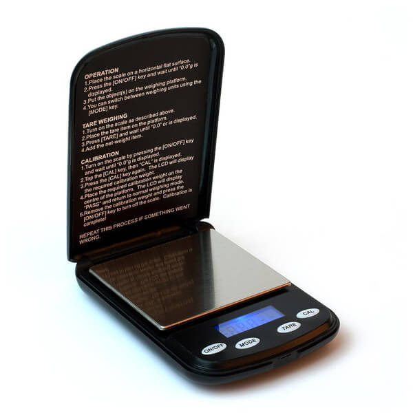 Coffee Gear Pocket Dosing Scale 500g