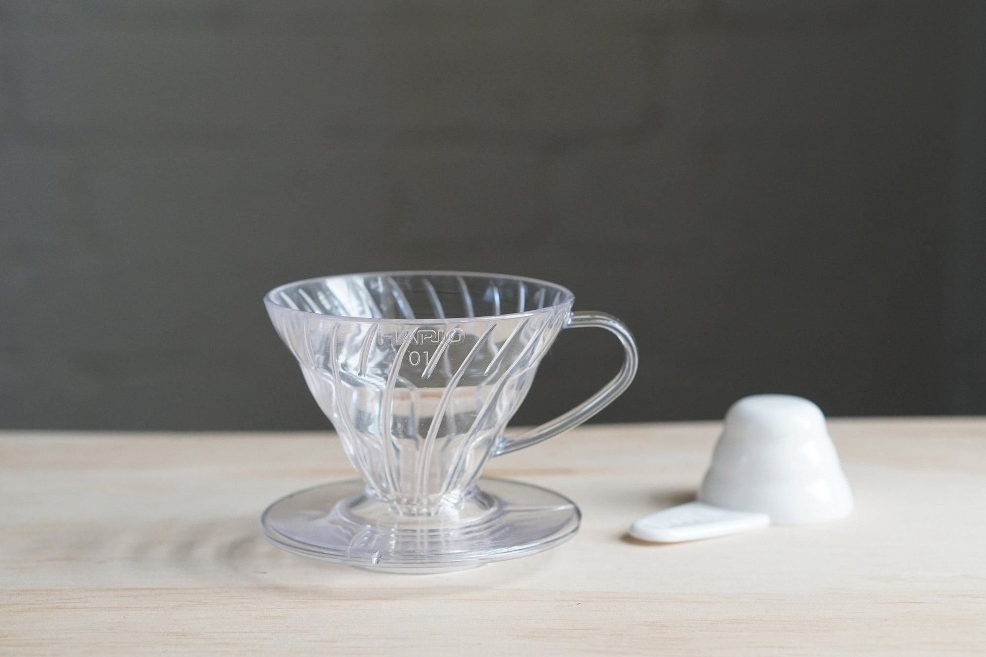 HARIO V60 Dripper Clear Plastic 01 Cup