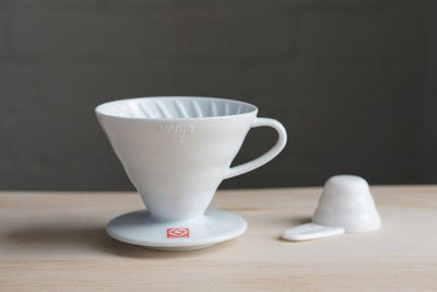 HARIO V60 Dripper White Ceramic 01 Cup