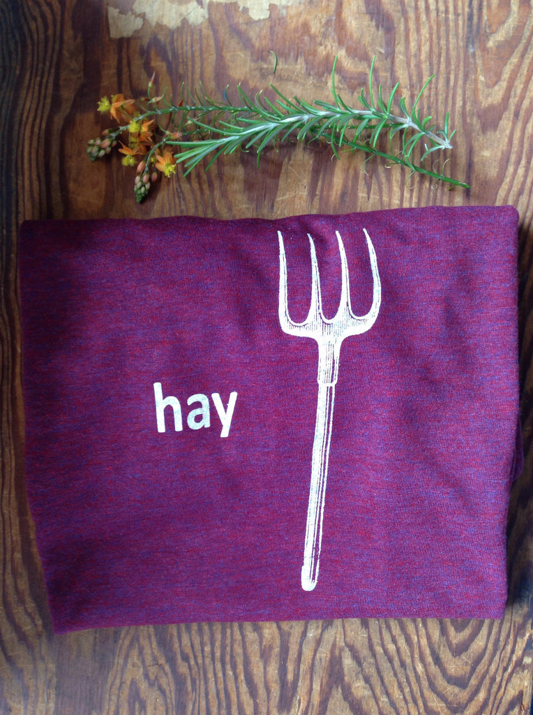 Hay or Hey shirt for guys