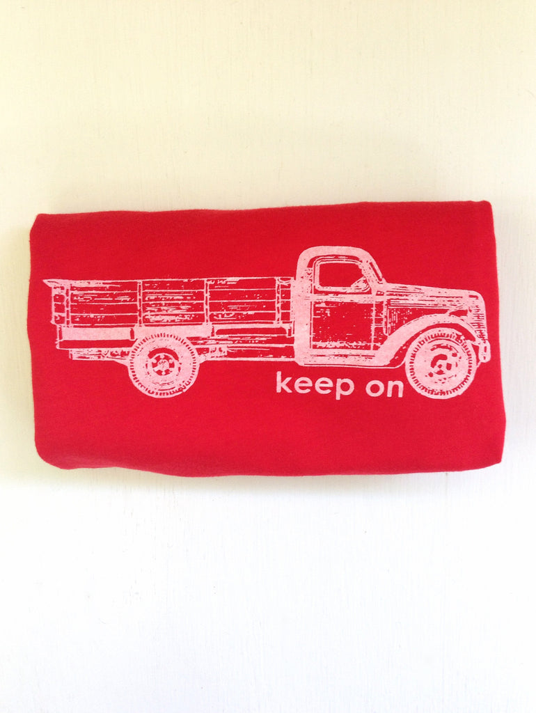 Keep on Truckin' kids tee - Hello Lucky Life  - 2