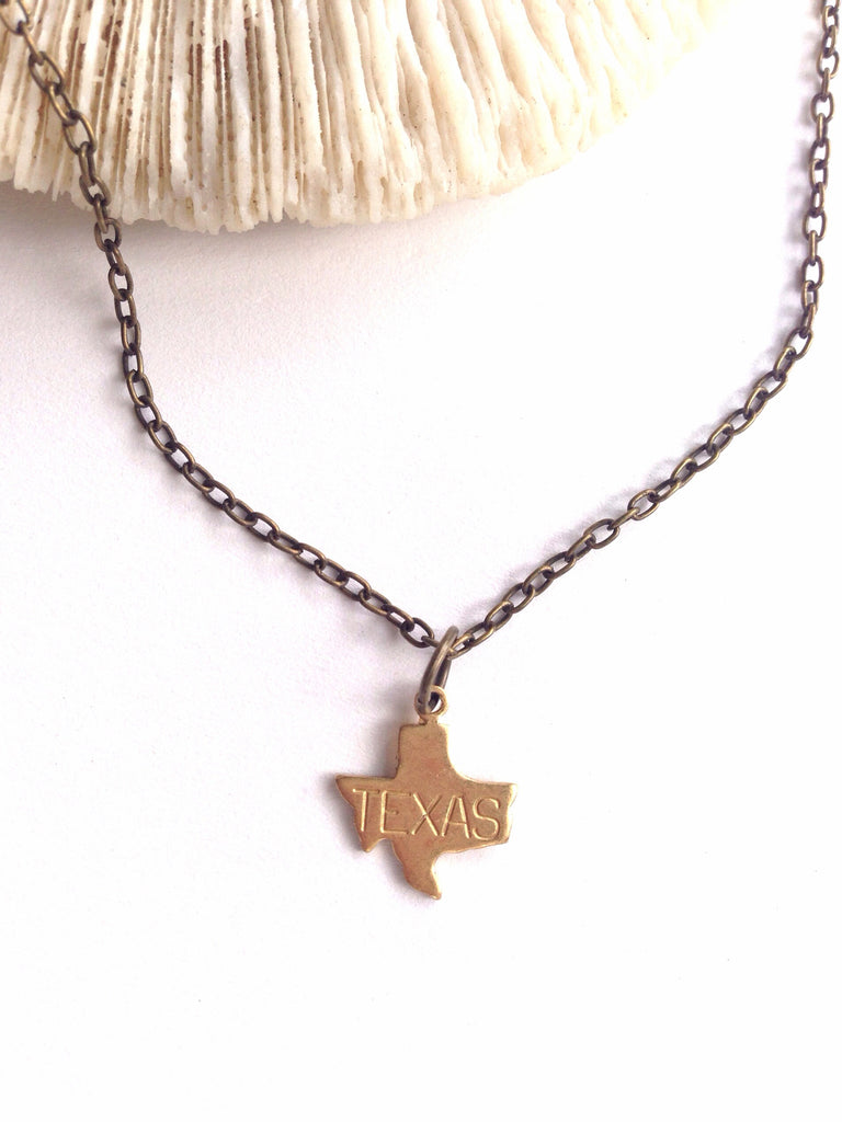 Tiny Texas Necklace - Hello Lucky Life  - 2
