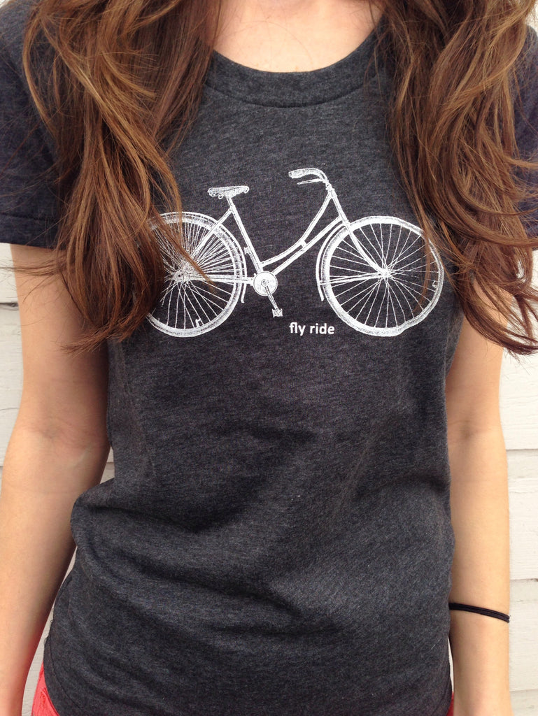 Fly Ride Bike tee for women by Hello Lucky Life - Hello Lucky Life  - 2