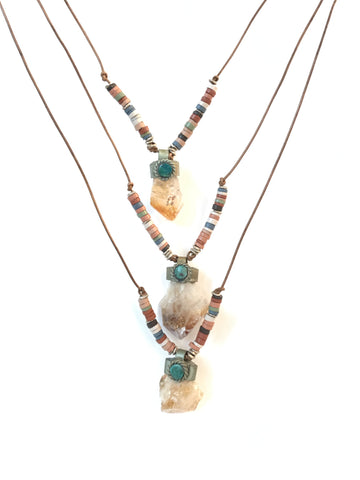 Amerie - tassel necklace