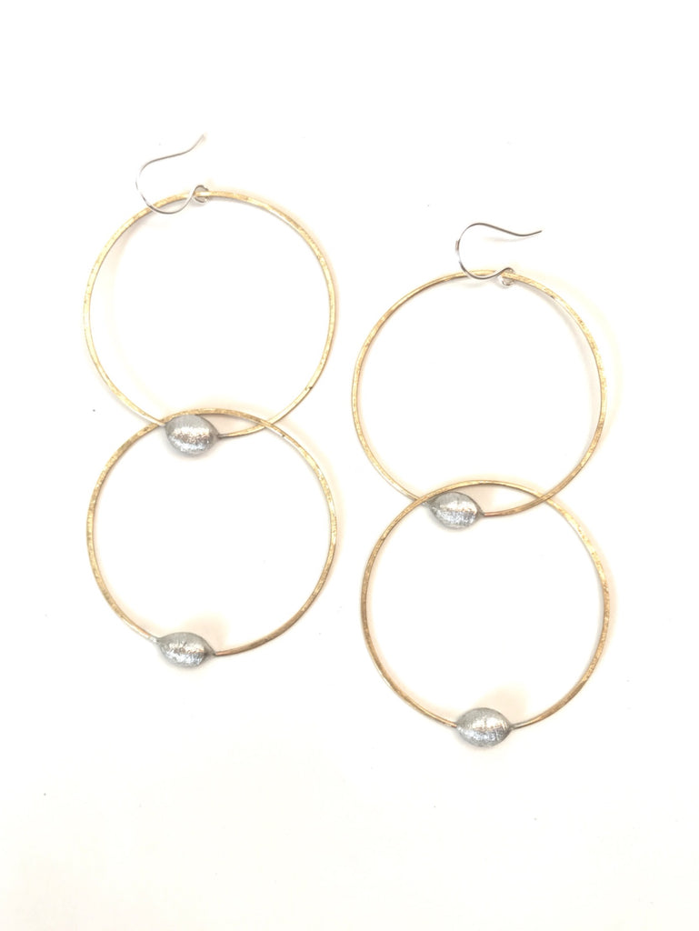 Deux Grands - earrings