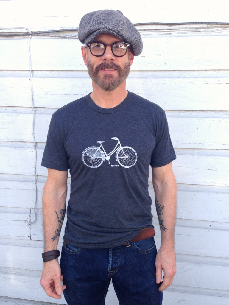 Fly Ride Bike tee by Hello Lucky Life - Hello Lucky Life  - 1