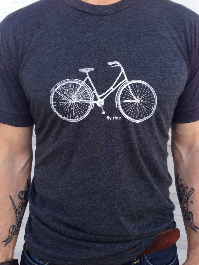 Fly Ride Bike tee by Hello Lucky Life - Hello Lucky Life  - 2