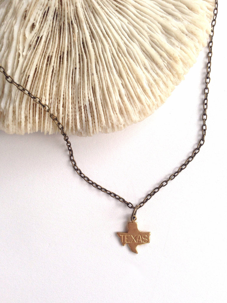 Tiny Texas Necklace - Hello Lucky Life  - 1