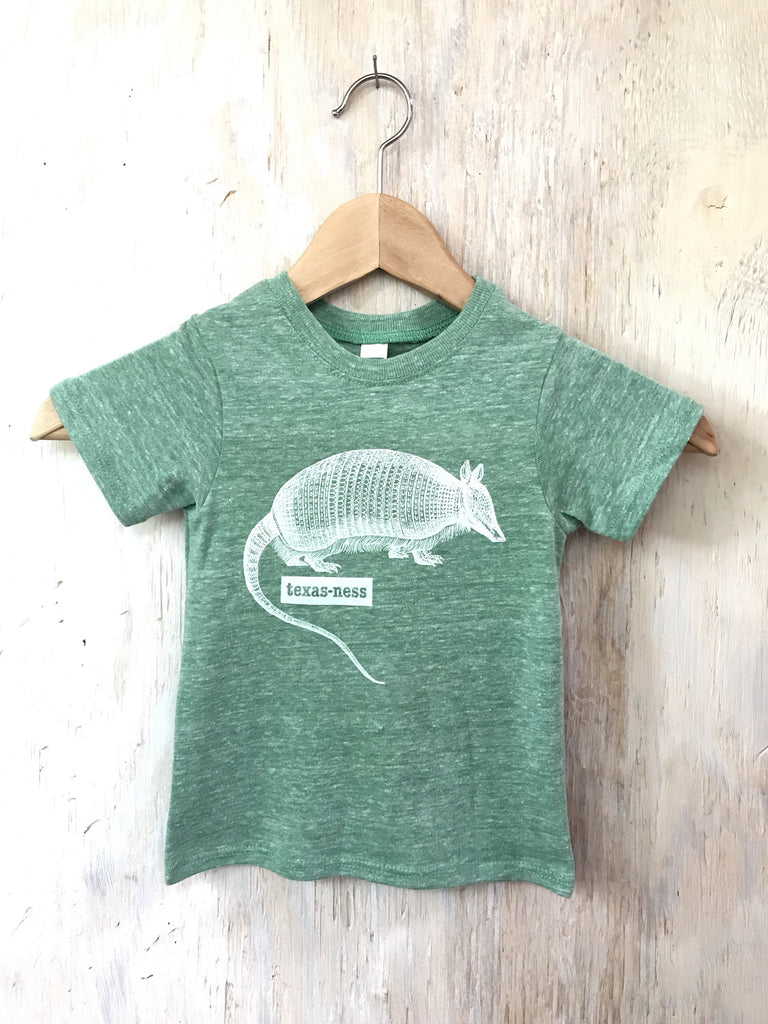 Texas Armadillo - kids - green