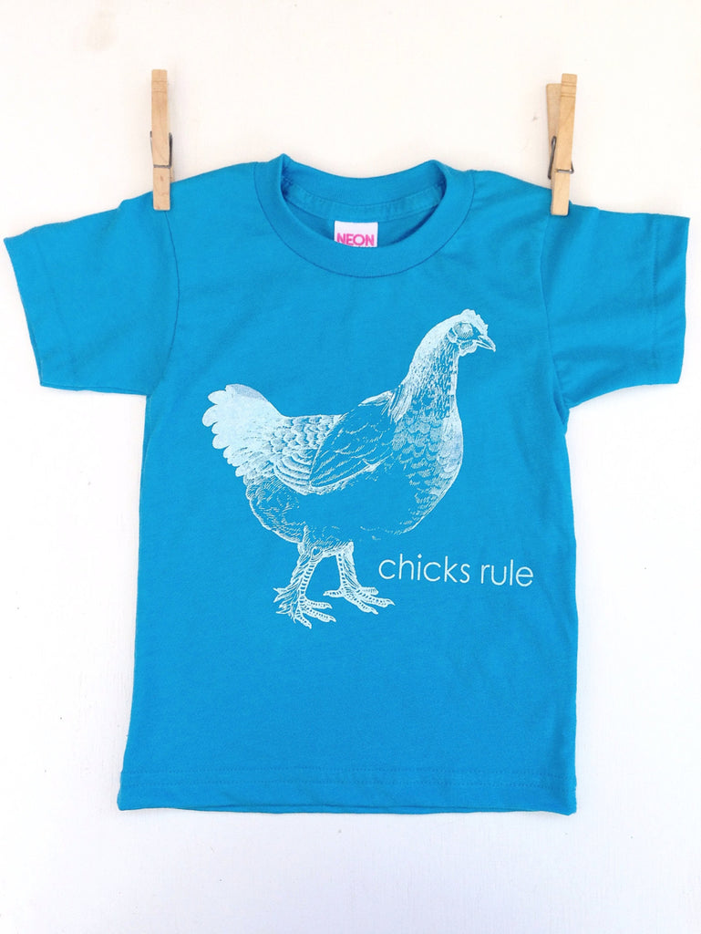 Chicks Rule t shirt