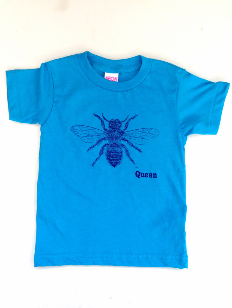 Queen Bee kids tee - Hello Lucky Life  - 1