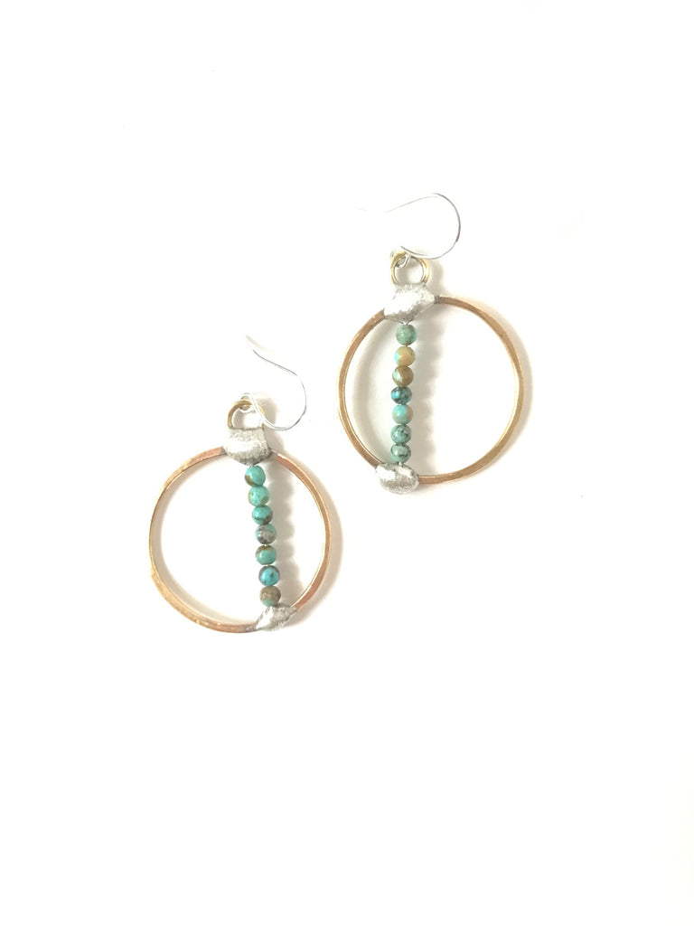 Terre Turquoise - earrings