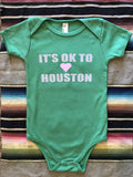 its ok to love houston shirt