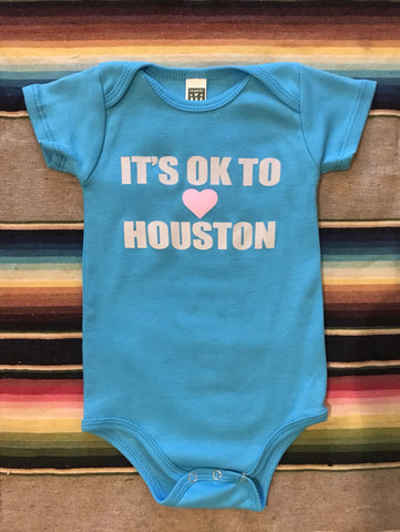 It's ok to Love Houston - button