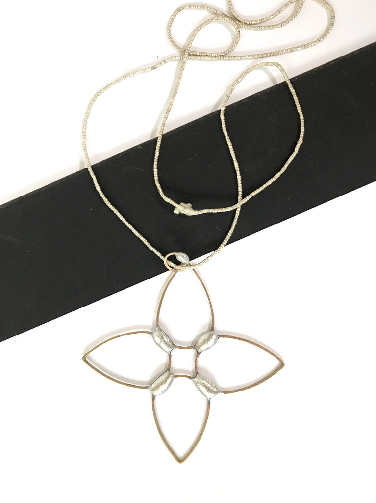 Compass Rose - necklace
