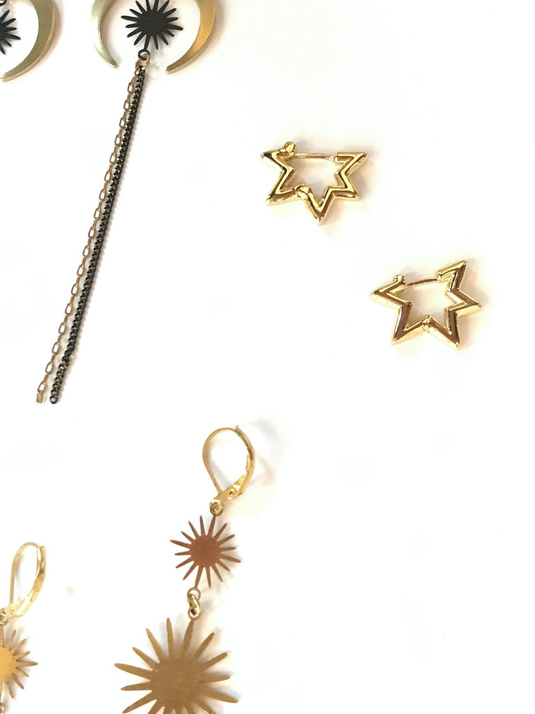 Morning Star - earrings