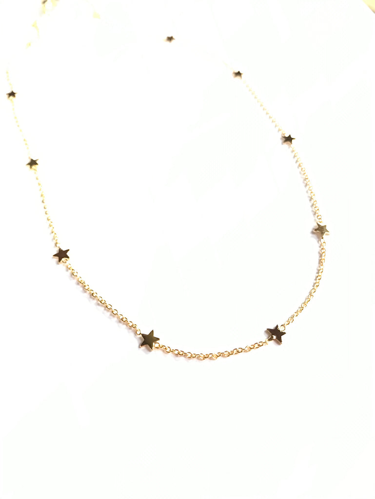 Tiny stars - necklace
