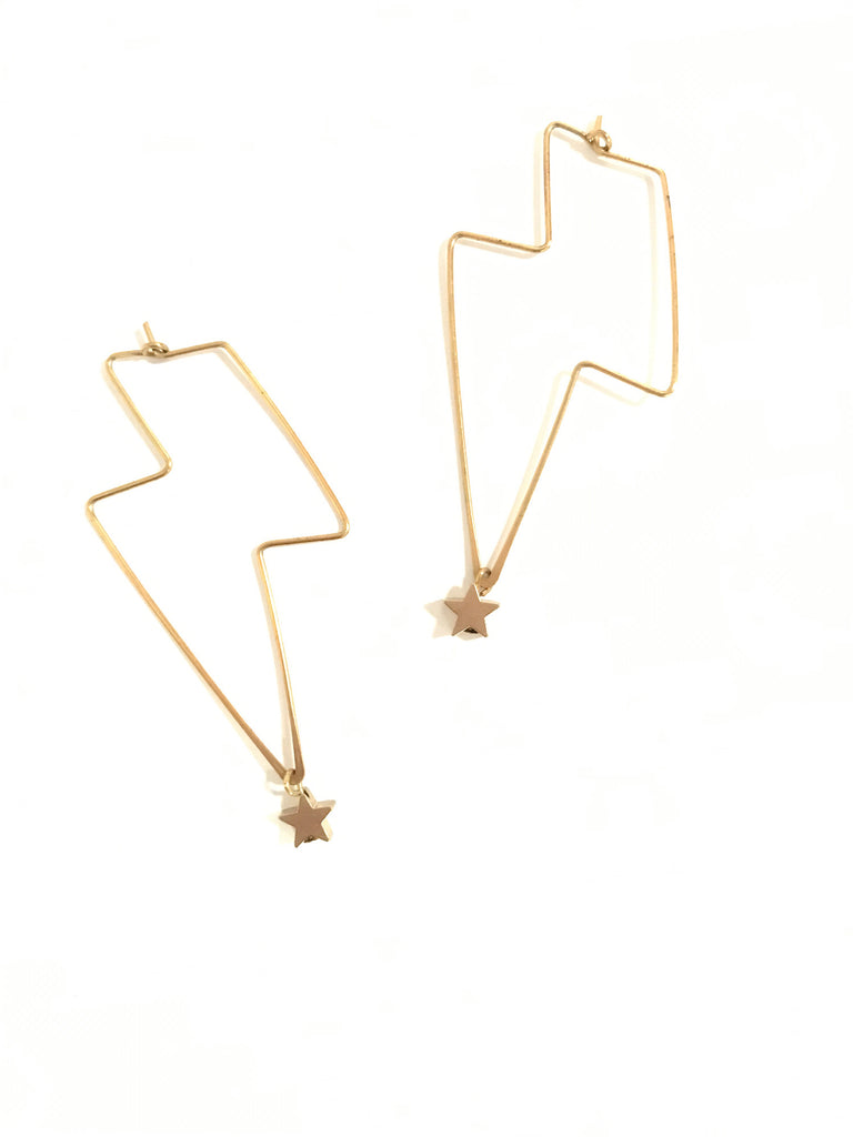 Lightning Stars - earrings