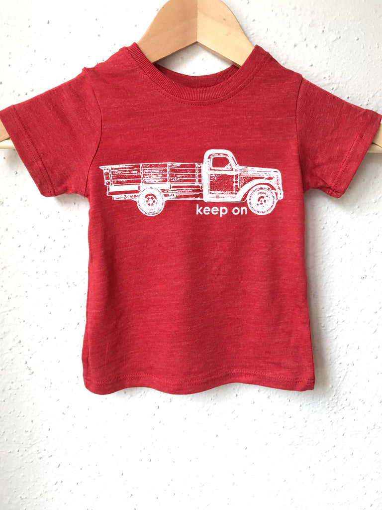 Keep on Trucking - eco tri - kids