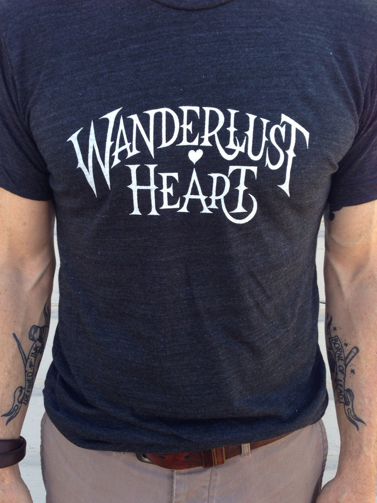 Be Still My Wanderlust Heart tee for women - Hello Lucky Life  - 5