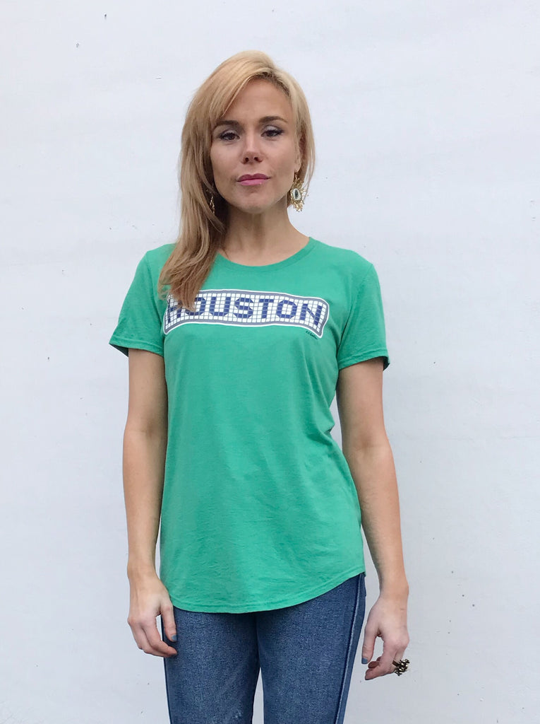 Green Houston Blue Tile - ladies