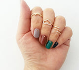 Forest midi ring