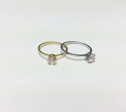 Big Cubic midi ring