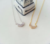 Cubic Chevron Necklace