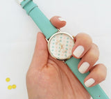 7 Colorful Dot Watch