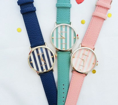 Stripe Watch(7 colors)