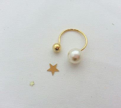 Pearl&Ball ring