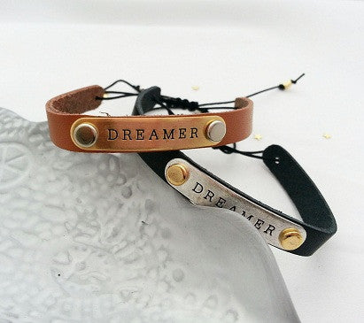 Dreamer leather Bracelet