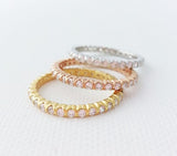 Circular ring 925 (3colors)