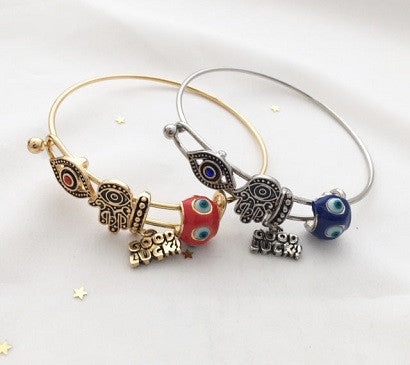 Good Luck Charms bangle