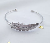 Autumn leaf bangle