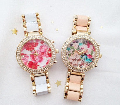 Blossom Dial Watch