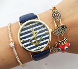 Summer Stripe Anchor watch