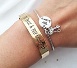 cute 'Be brave' bangle