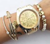 Chic Basic Metal watch