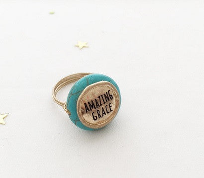 Amazing Grace wired Ring